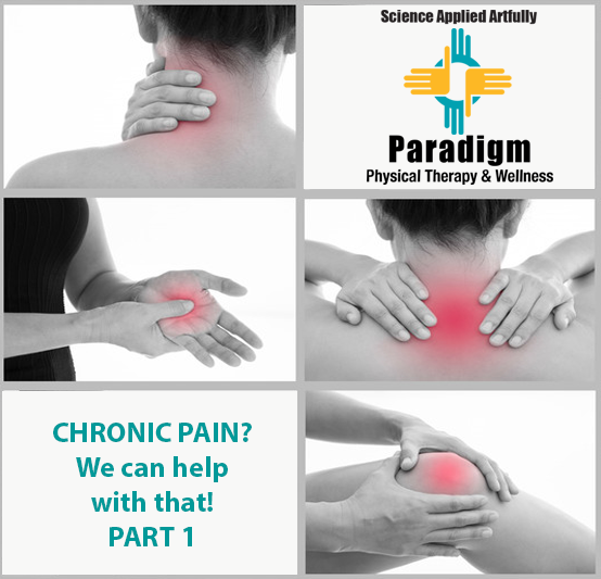 Chronic Pain, We can help with that! Part 1