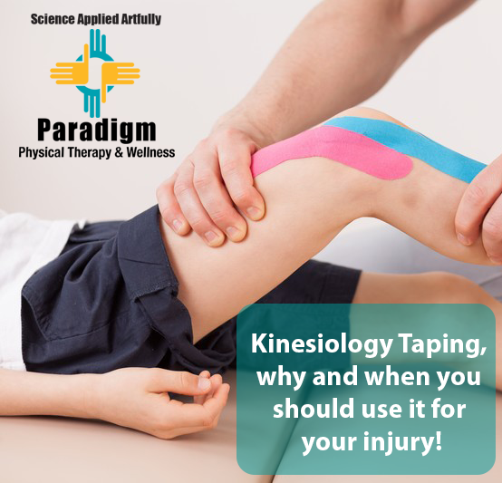 Kinesiology Taping, why and when you should use it for your injury!