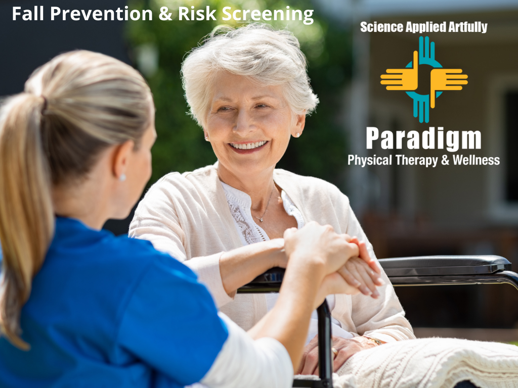 Fall Risk Screening and Prevention Month - 1 in 4 people 65 years or older falls each year
