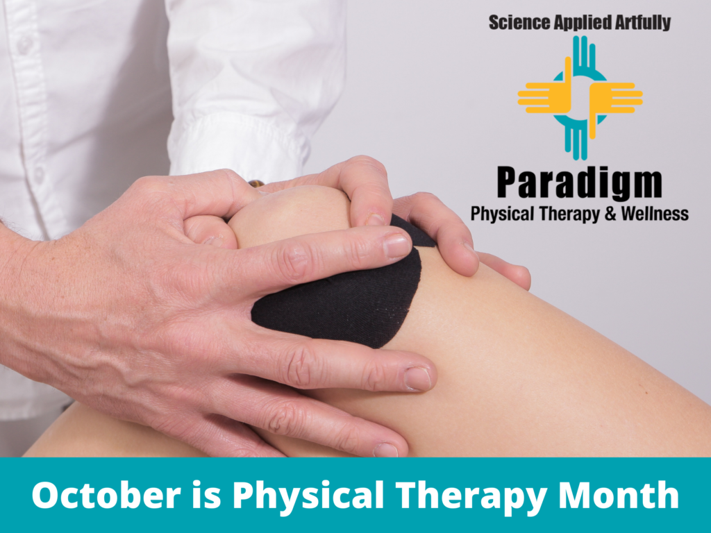 October is Physical Therapy Month, The benefit of preoperative PT