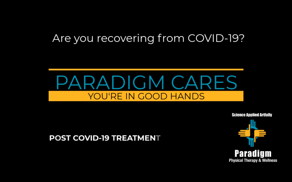 Physical Therapy When Recovering from COVID-19