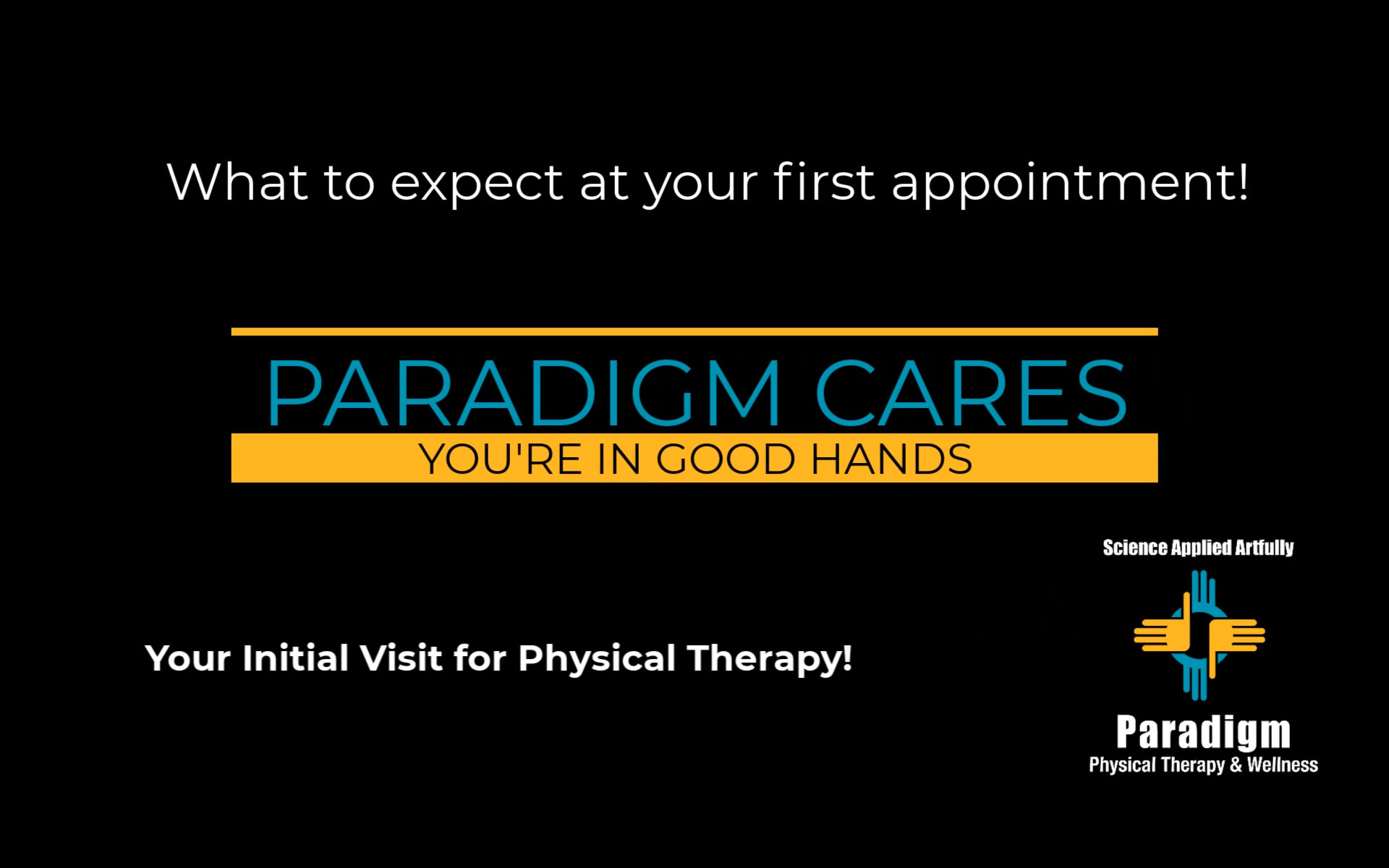 Do you know what to expect when you attend your initial visit to physical therapy?