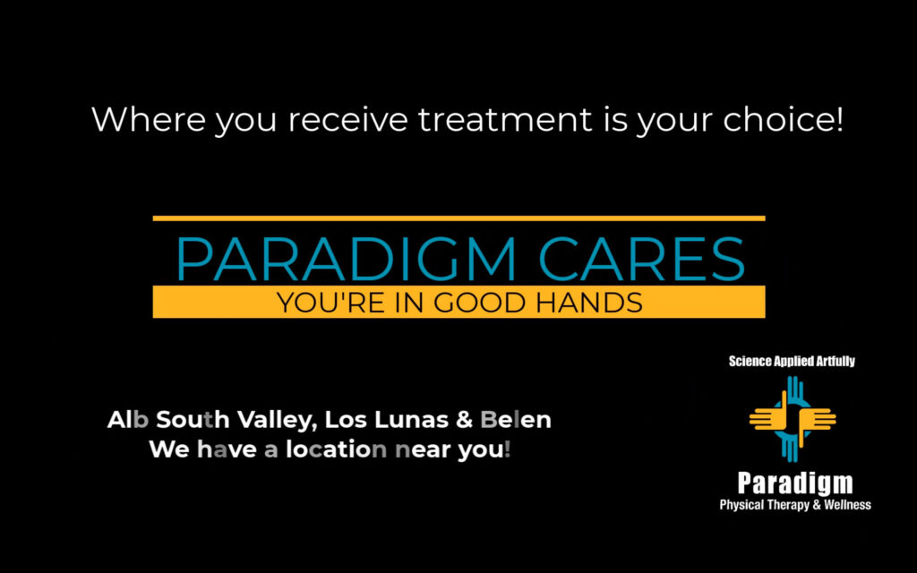 Did you know, you have the choice where to receive your physical therapy?